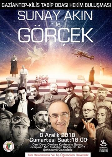"""""""Hekim Buluşması"""" SUNAY AKIN / GÖRÇEK Gösterisi"""
