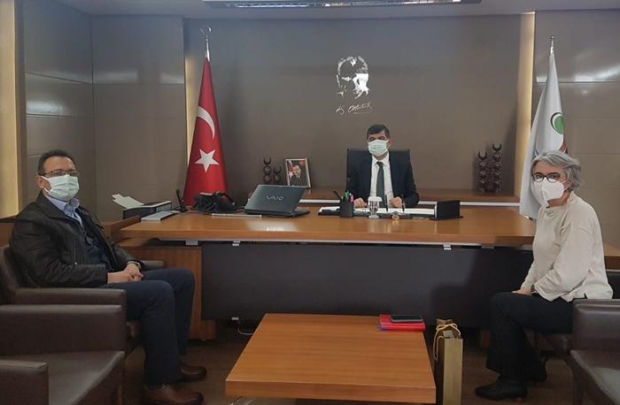 Şehitkamil Belediye Başkanı Rıdvan FADILOĞLU' na ziyaret.