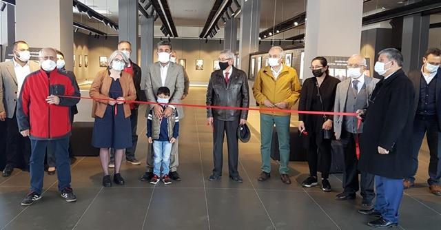 """""""Ahde-Vefa"""" konulu """"Fotoğraf Sergimizin"""" açılışı yapıldı."""