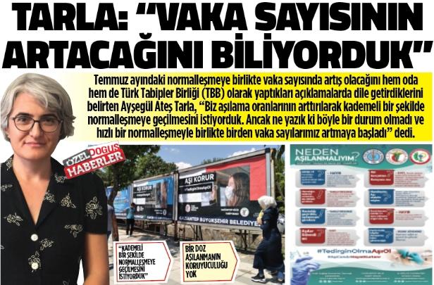"""""""VAKA SAYISININ ARTACAĞINI BİLİYORDUK"""""""